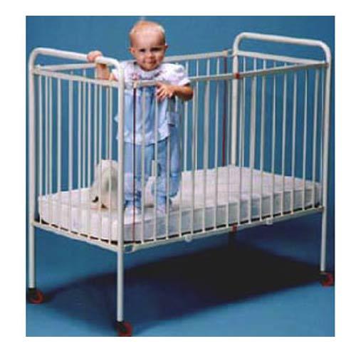 "Full Size Metal Crib (52""X28"")"