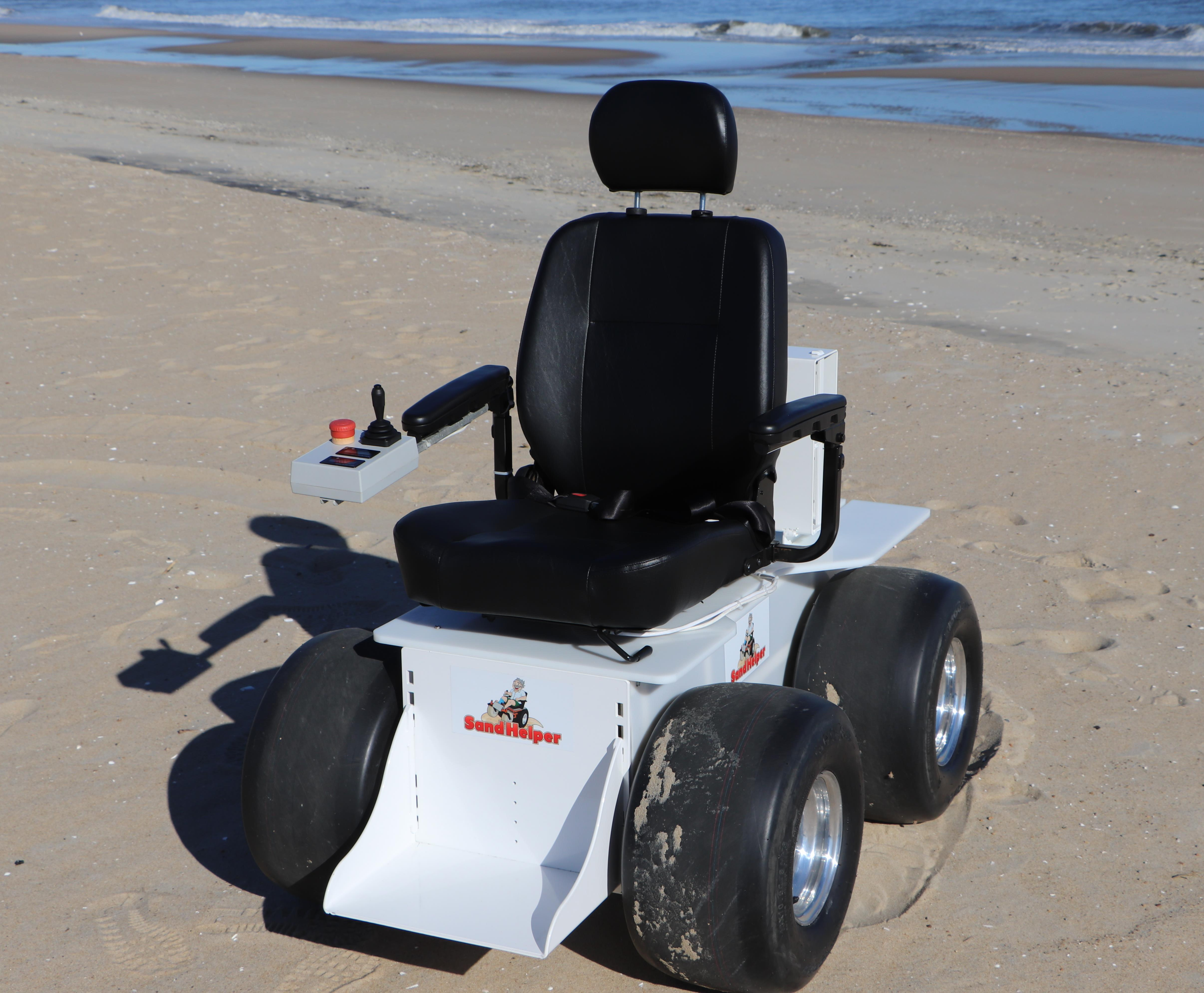 Sand Helper Motorized Beach Wheel Chair