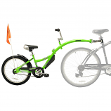 WOMAN'S BIKE WITH  ATTACHED CHILD BIKE