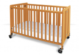 "Full Size Wood Crib (52""X28"")"