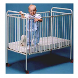 "Full Size Metal Crib (52""X28"")"