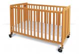 "Full Size Wood Crib (52""X28"")"